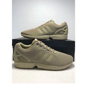 Adidas ZX FLUX HEMP TAN running shoes